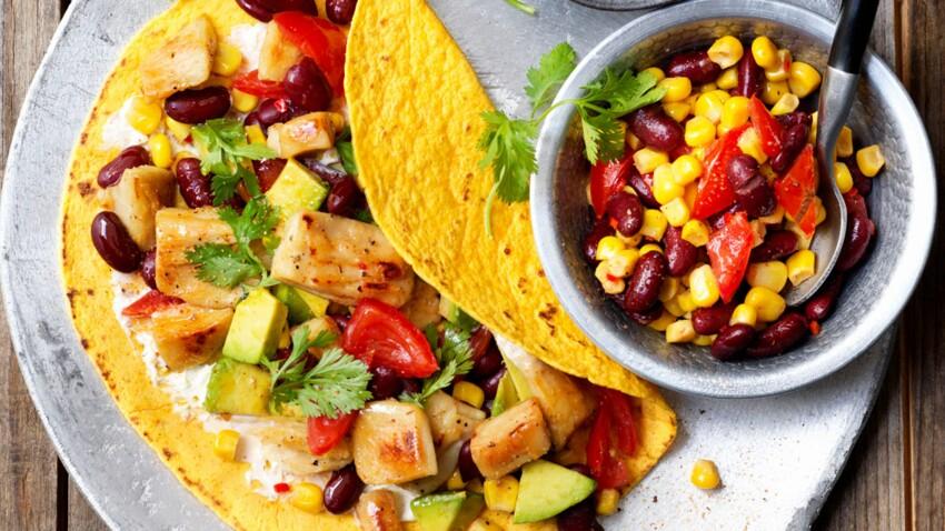 Tortilla mexicaine végétarienne