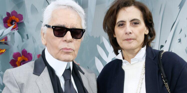 """Mort de Karl Lagerfeld : Inès de La Fressange se confie sur le dernier réveillon du créateur, """"au plus mal"""""""