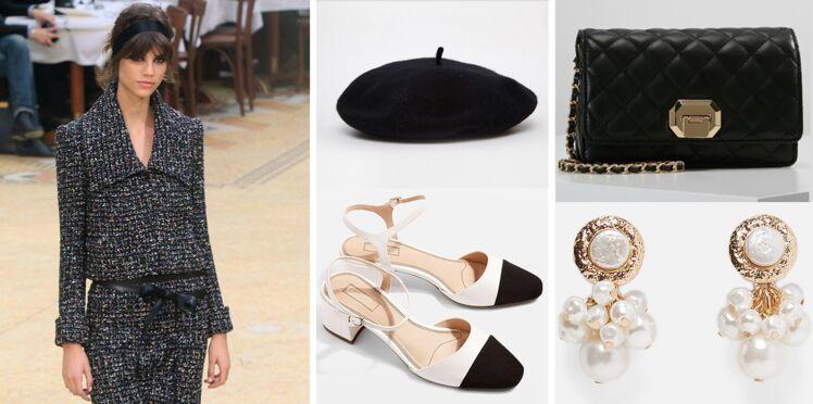 Veste en tweed, sac matelassé et robe noire, 15 pièces inspirées de Chanel à shopper à prix abordable !