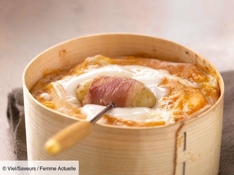 Fondue de vacherin, rattes et jambon cru : découvrez les recettes de cuisine de Femme Actuelle Le MAG