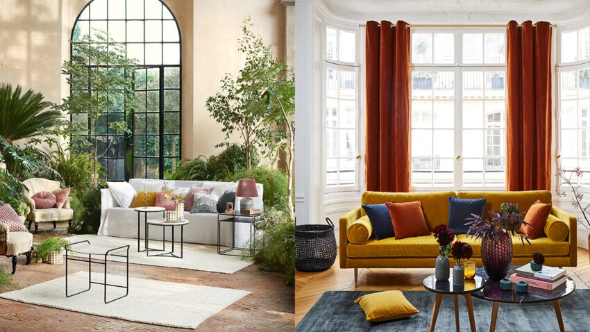Tropical, Art Déco, contemporain... Quel style adopter dans mon salon ?