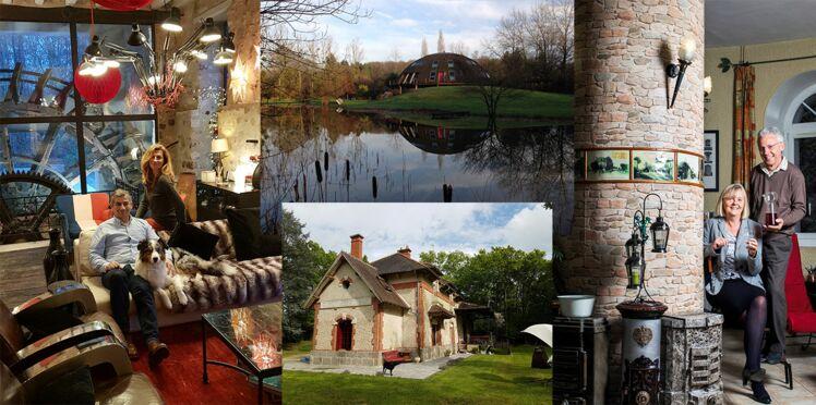 Gare, moulin, château d'eau..Ils vivent dans des lieux atypiques