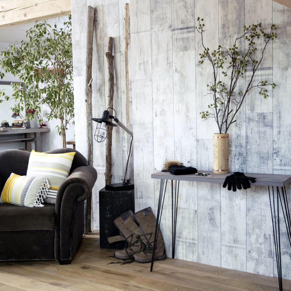 Idee Habillage Mur Interieur rénovation de maison : comment masquer les aspérités d'un