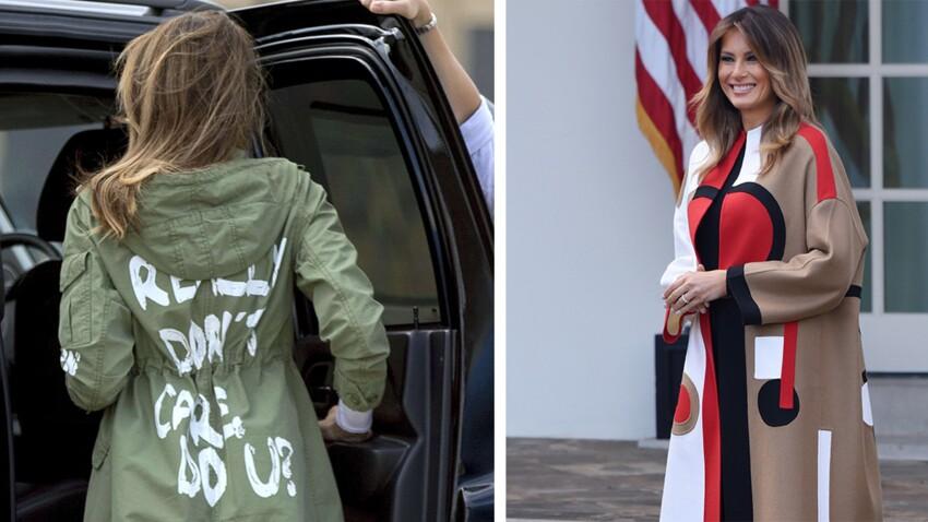 Melania Trump : quand la first Lady stylée fait polémique avec ses looks