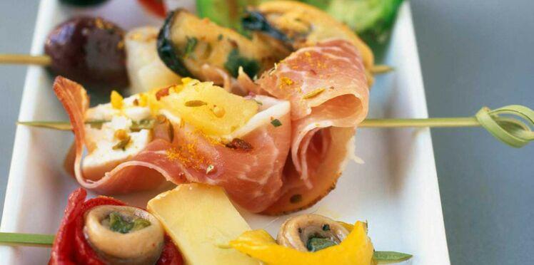Nos recettes pour un apéro dînatoire autour du monde