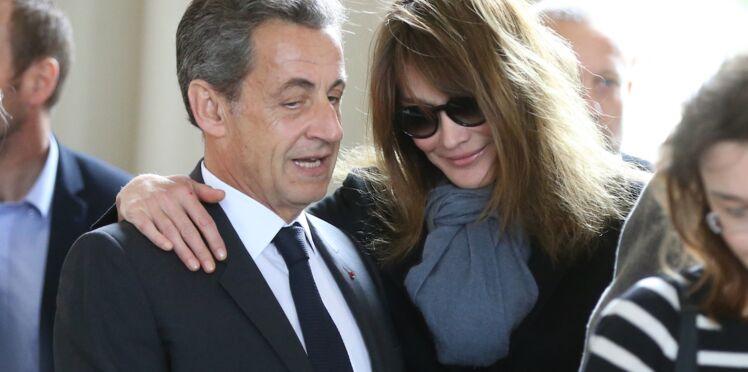 Carla Bruni et Nicolas Sarkozy s'offrent des vacances en famille à la montagne
