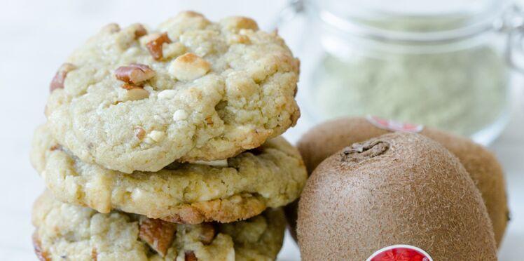 Cookies matcha aux kiwis