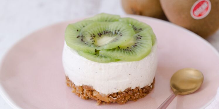 Cheesecakes aux kiwis