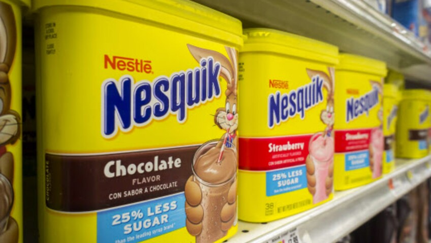Non, Nesquik ne va pas arrêter sa fameuse boîte jaune