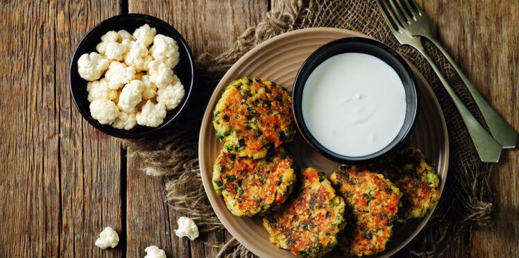 Palets végétariens au chou-fleur