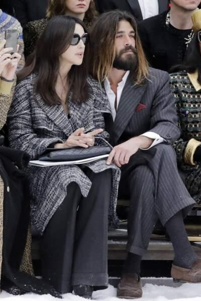 Monica Bellucci et Nicolas Lefèbvre