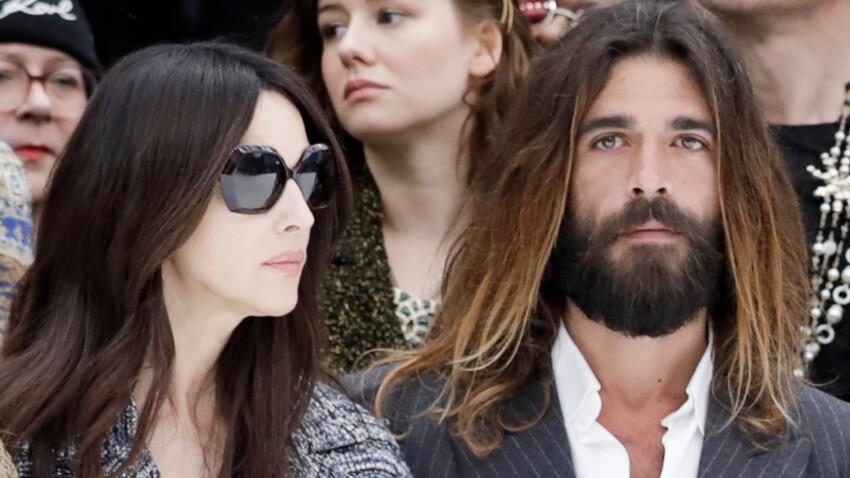Photos - Monica Bellucci : qui est Nicolas Lefèbvre, le beau gosse présent à ses côtés au défilé Chanel ?