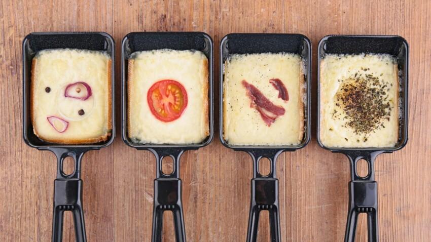 10 idées d'accompagnements pour manger avec du fromage à raclette fondu