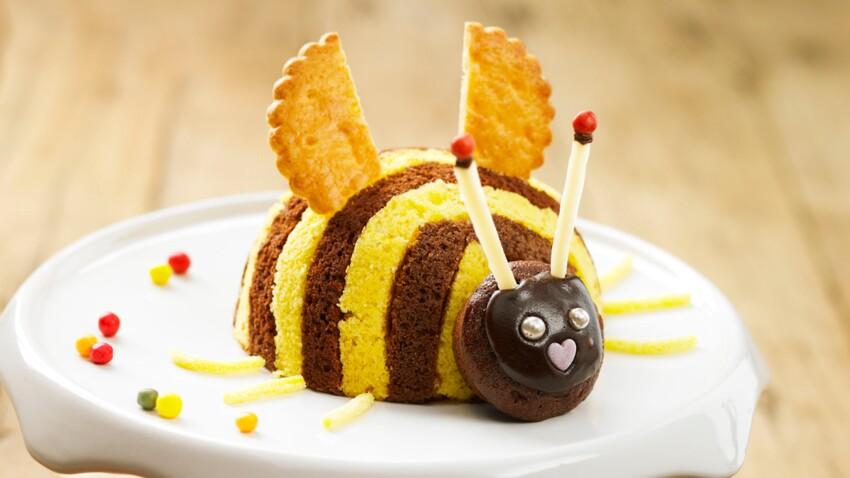 Gâteau d'anniversaire facile pour enfant : Maya l'abeille surprise