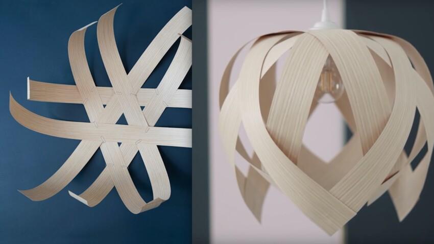 DIY Lampe : une suspension tendance, facile et pas cher