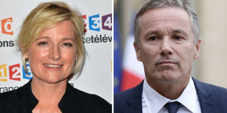 """Vidéo - Anne-Elisabeth Lemoine (C à Vous) revient sur son clash avec Nicolas Dupont-Aignan et dénonce """"une stratégie du buzz"""""""