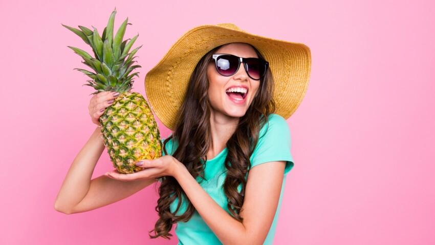 Comment manger un ananas sans l'éplucher ?