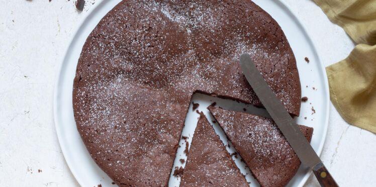 Gâteau au chocolat super facile à la farine de riz