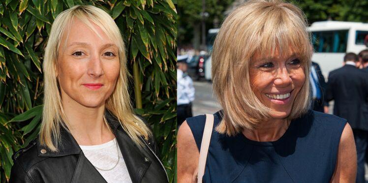 Audrey lamy confondue avec… Brigitte Macron à l'Elysée