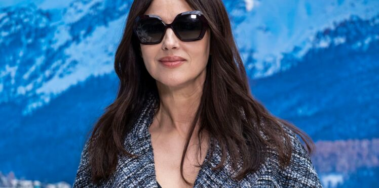 Monica Bellucci, fatale en blonde