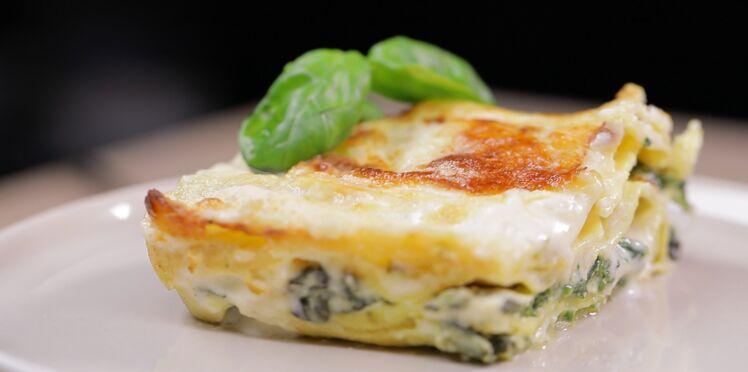 Lasagnes Ricotta et épinards : notre recette en vidéo