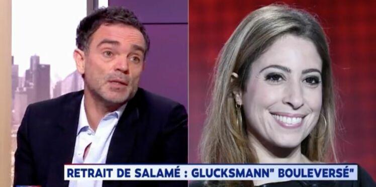 """Vidéo - Léa Salamé quitte l'antenne : pour Yann Moix, cette décision renvoie une image de la femme """"d'une soumission totale"""""""