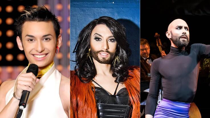Photos - Conchita Wurst (vainqueur de l'Eurovision 2014) : son incroyable métamorphose en images