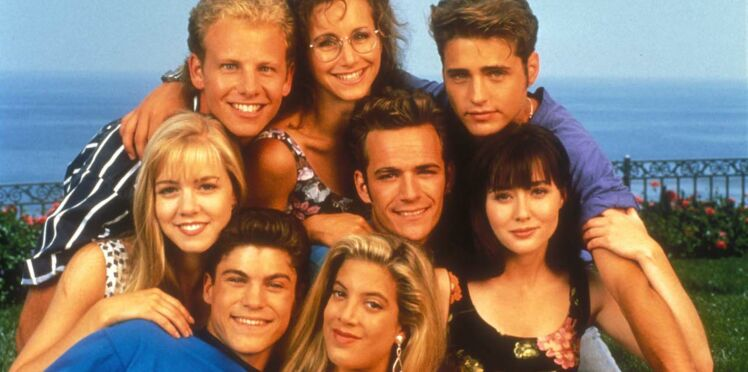 Le casting de Beverly Hills 90210 s'est réuni quelques jours après la mort de Luke Perry