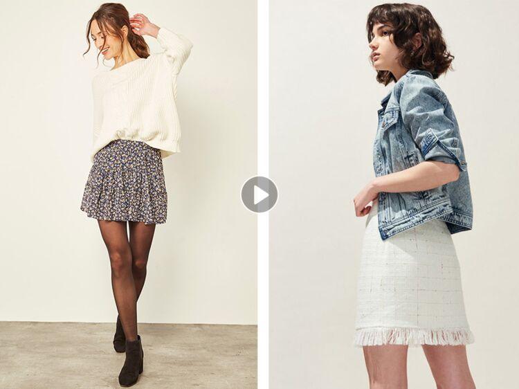 3725b9fff744 Mini-jupe   comment porter cette pièce tendance sans faire vulgaire   Femme  Actuelle Le MAG
