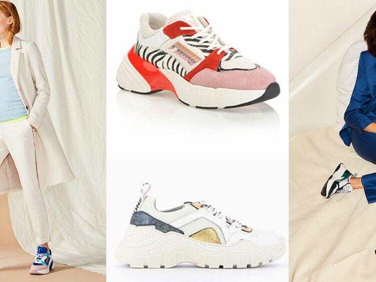 1ff3912af3aa53 Dad shoes : connaissez-vous ces baskets étranges qui cartonnent ? : Femme  Actuelle Le MAG