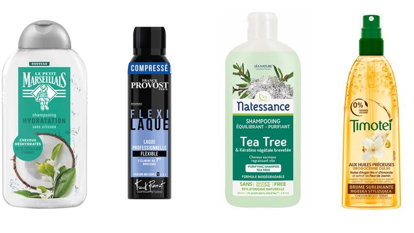 Cheveux secs, gras, fins... : le top des produits pour de jolis cheveux à petits prix