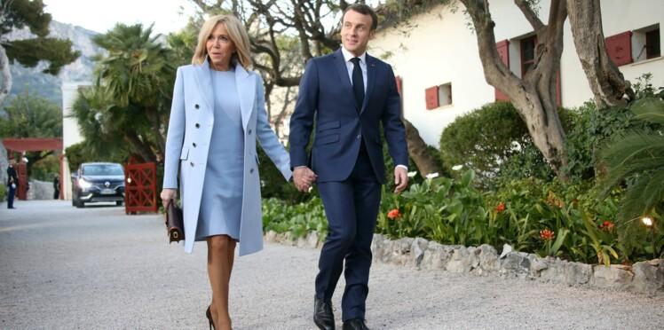 Photos - Brigitte et Emmanuel Macron complices et amoureux pour rencontrer le président chinois