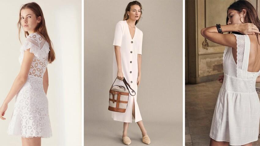 La petite robe blanche, l'indispensable de l'été 2019