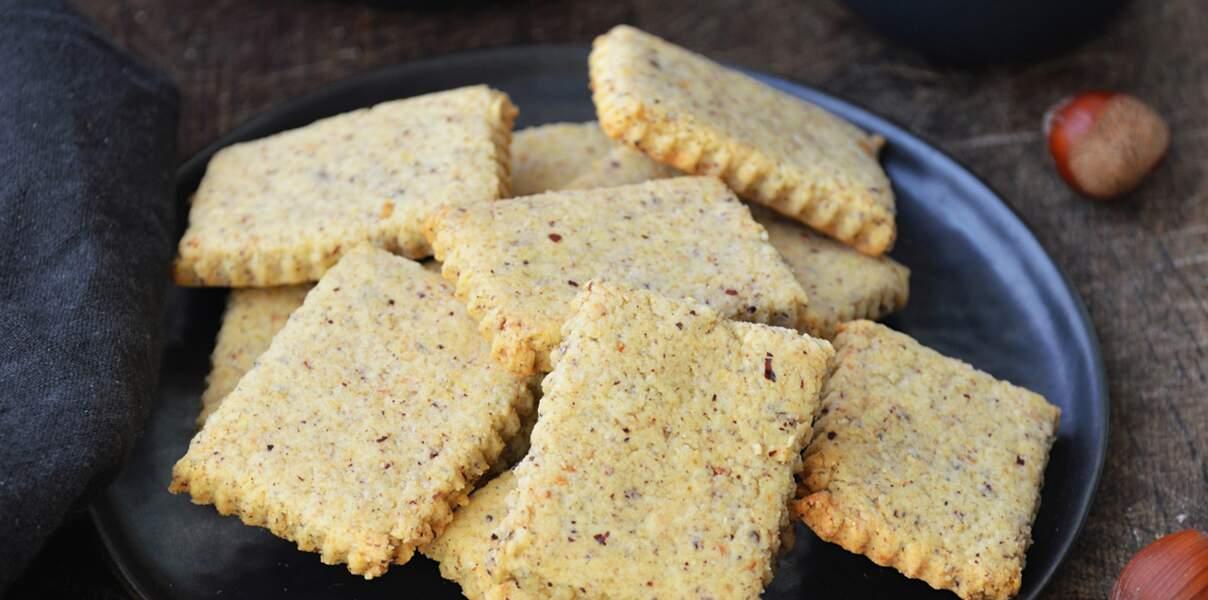 Biscuits vegan à la noisette