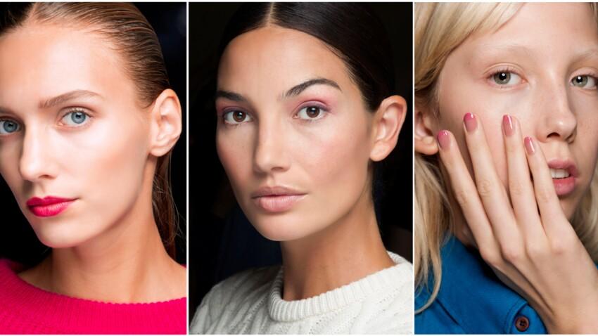 Tendance maquillage : 3 façons de porter le rose