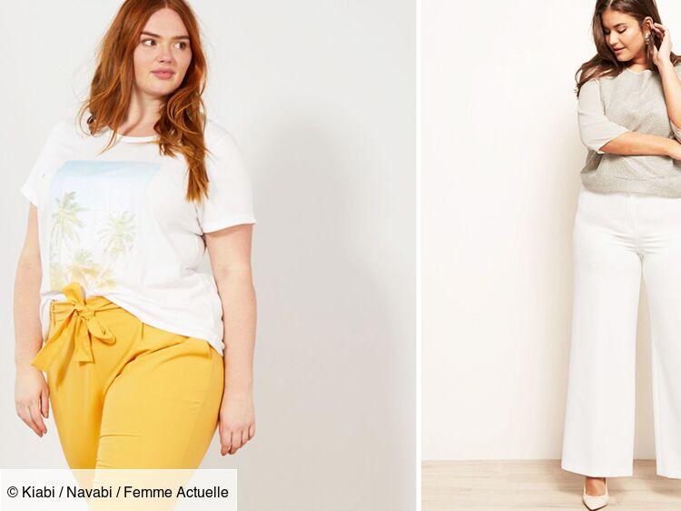 Pantalons Femme Blanc