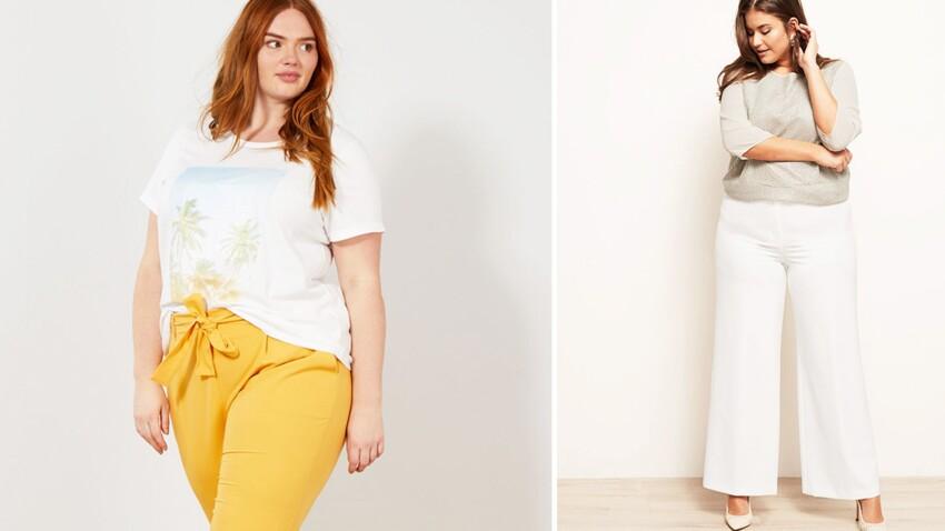 Mode ronde : 20 pantalons grande taille pour affiner et sublimer sa silhouette