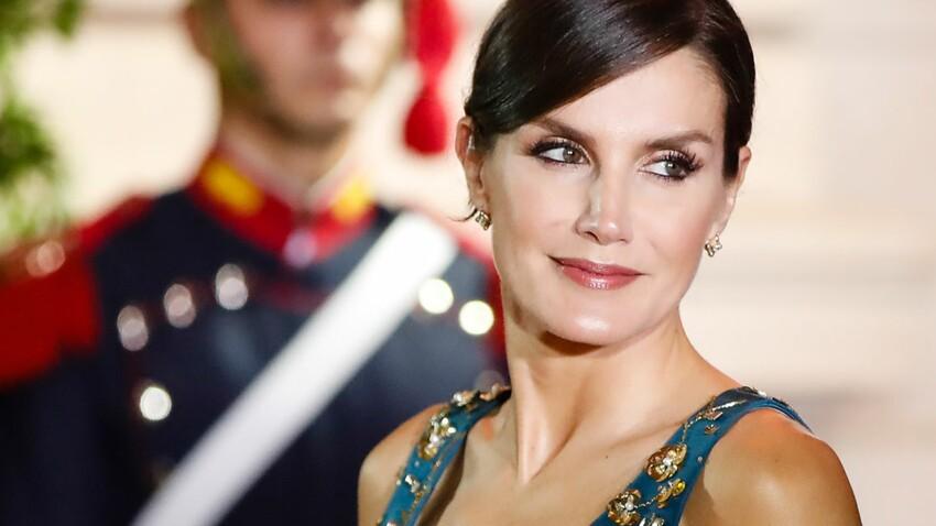 Letizia d'Espagne : comme Brigitte Macron, elle adopte le rouge glamour et c'est vraiment (mais vraiment) canon !
