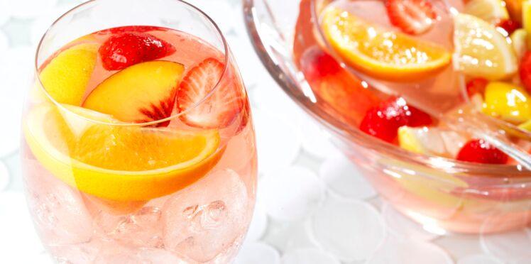 Cocktail Pink Sangria