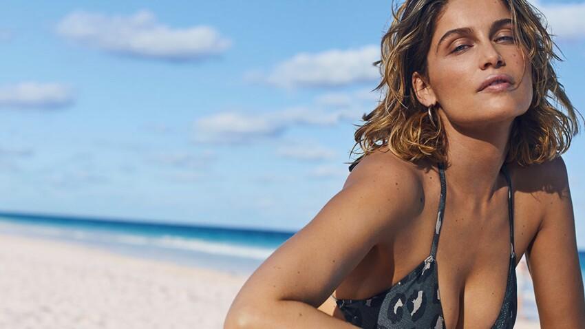Laetitia Casta, sublime en maillot de bain: elle prend la pose pour Etam