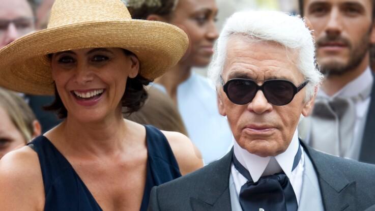 """Mort de Karl Lagerfeld : Inès de la Fressange ignorait tout de sa maladie, """"il était dans le déni"""""""