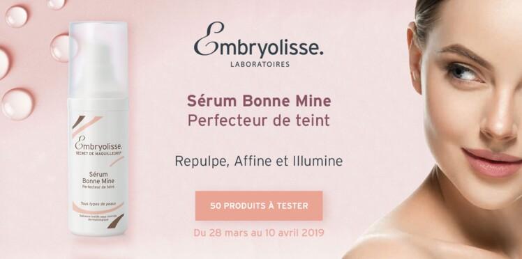Testez le Sérum Bonne Mine Perfecteur de teint d'Embryolisse