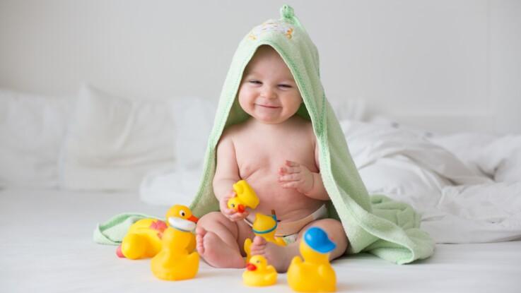 Découvrez Boston, un bébé australien avec une incroyable chevelure