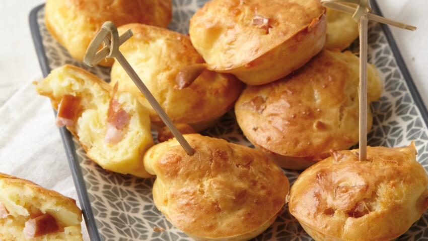 Mini muffins à la saucisse de Montbéliard
