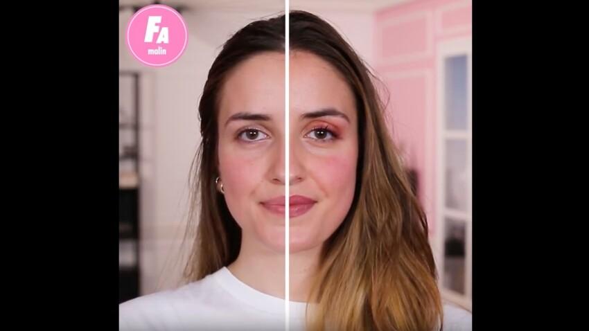 Vidéo - Comment se maquiller entièrement avec juste un tube de rouge à lèvres ?