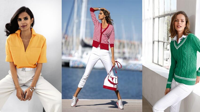 Quelles couleurs marier avec le blanc pour un look moderne après 50 ans ?