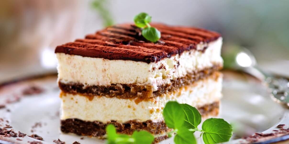 Torta tiramisù sans gluten