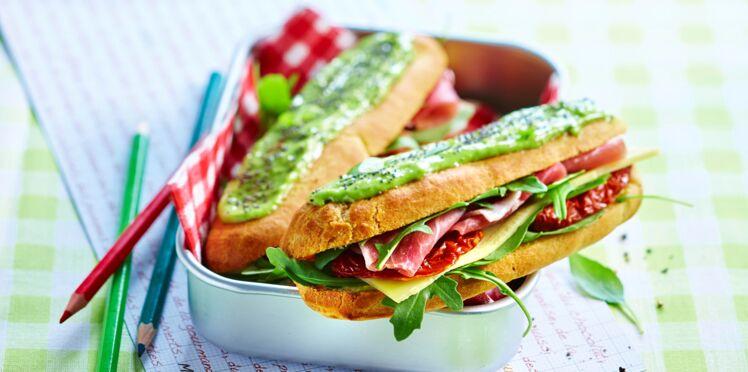 Eclairs-sandwichs