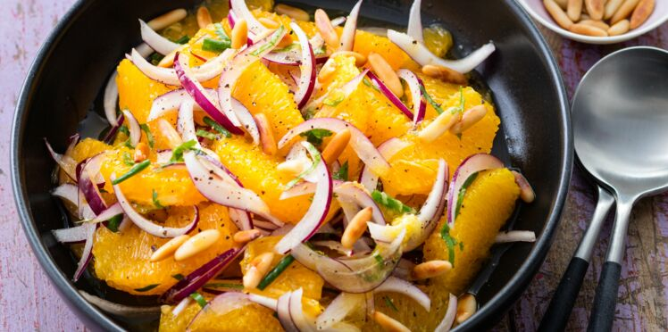 Salade orientale à l'orange