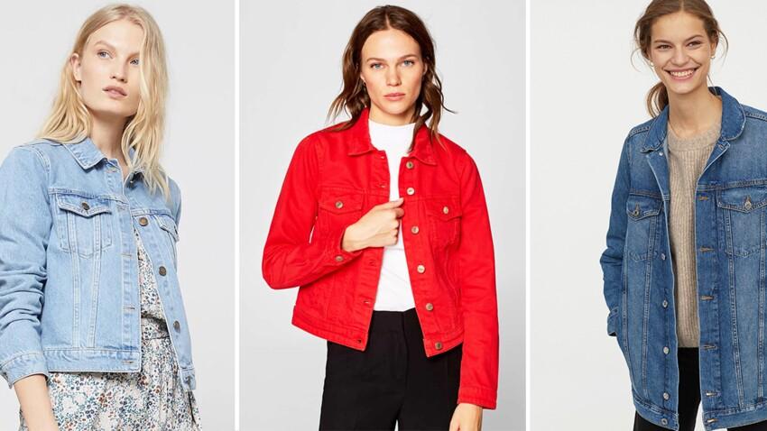 Veste en jean : 20 modèles au top pour un printemps stylé